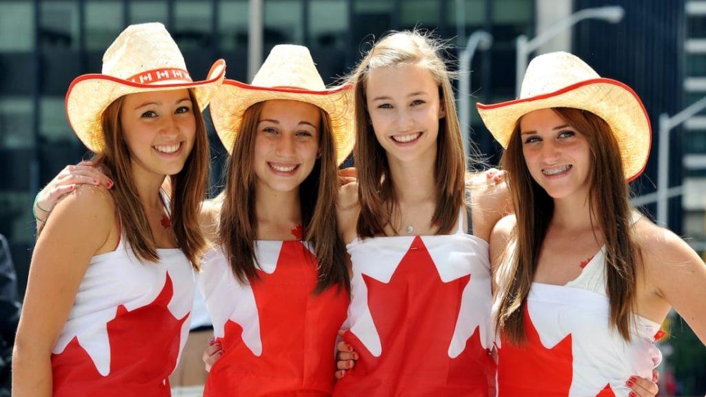 De bien belles canadiennes